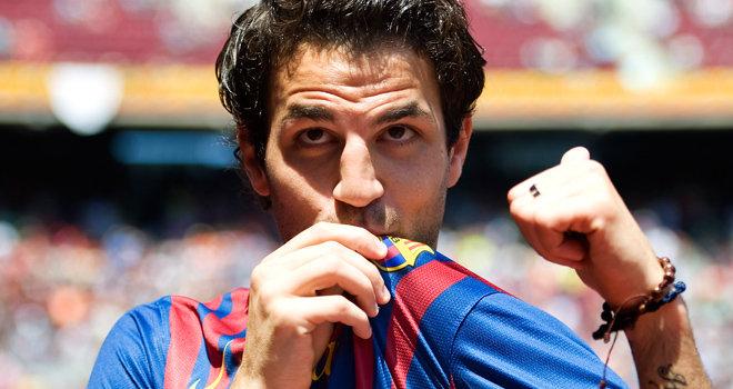 Bintang Arsenal Francesc Fabregas Disambar Barcelona