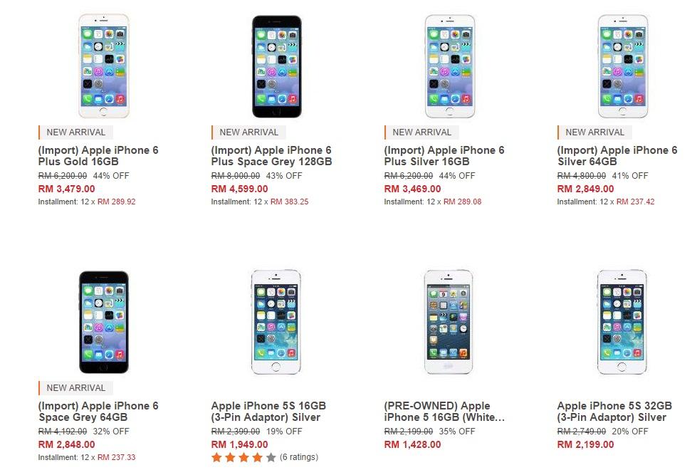 Harga Iphone 6 Plus Di Malaysia Serendah Rm3 479