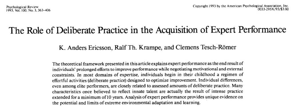 Saya syorkan jurulatih-jurulatih Malaysia membaca artikel akademik ini.